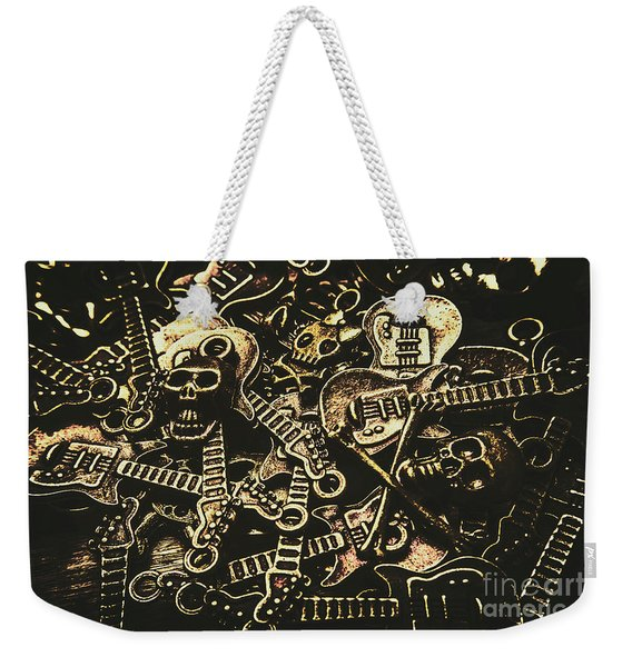 Tones Of Hard Rock Weekender Tote Bag