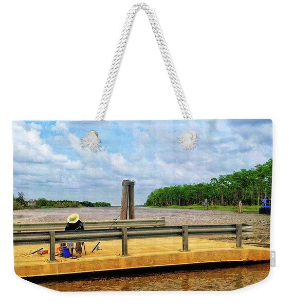 Too Hot To Fish Weekender Tote Bag