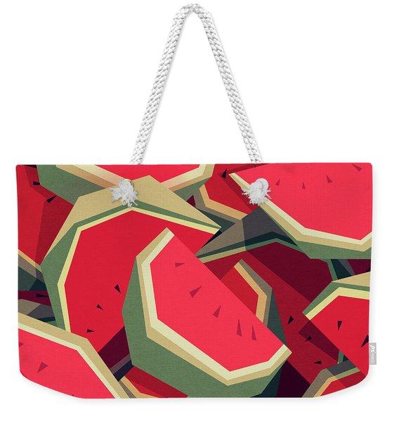 Too Many Watermelons Weekender Tote Bag