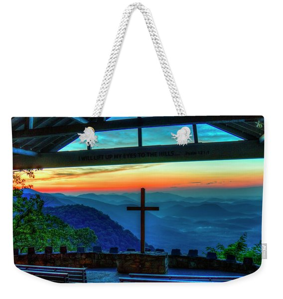 Too Pretty Symmes Chapel Pretty Place Chapel Greenville South Carolina Art Weekender Tote Bag