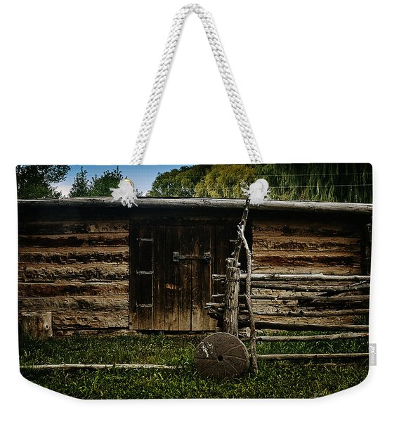 Tool Shed Weekender Tote Bag