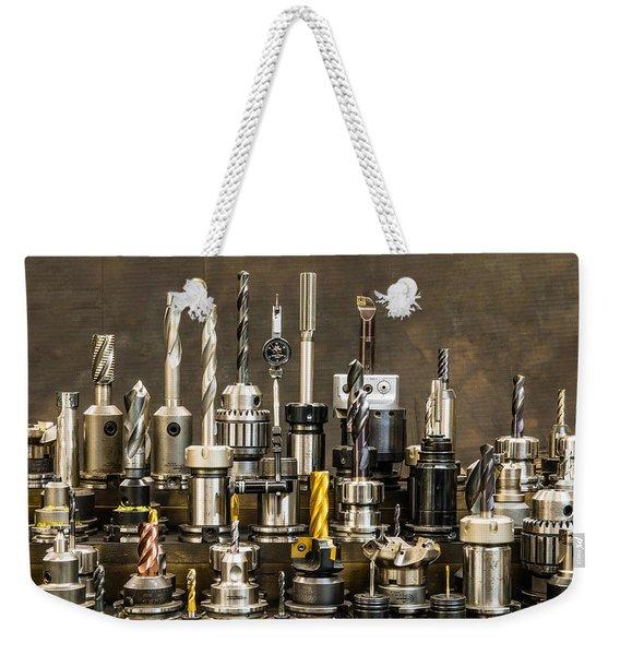 Toolmakers Cutting Tools Weekender Tote Bag