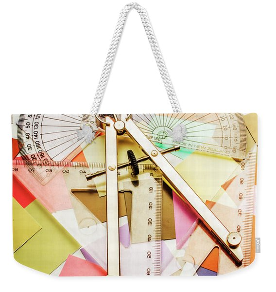 Tools Of Architectural Design Weekender Tote Bag