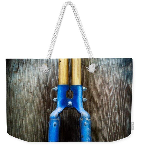 Tools On Wood 24 Weekender Tote Bag