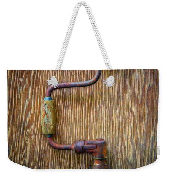 Tools On Wood 61 Weekender Tote Bag