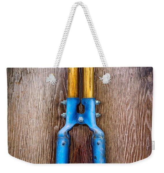 Tools On Wood 73 Weekender Tote Bag