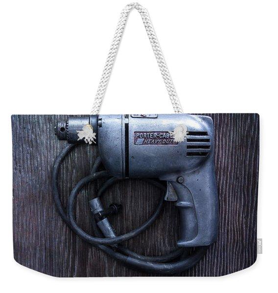 Tools On Wood 76 Weekender Tote Bag