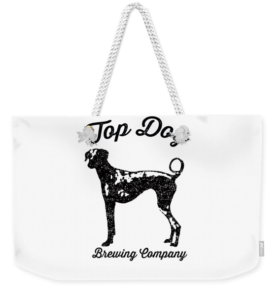 Top Dog Brewing Company Tee Weekender Tote Bag