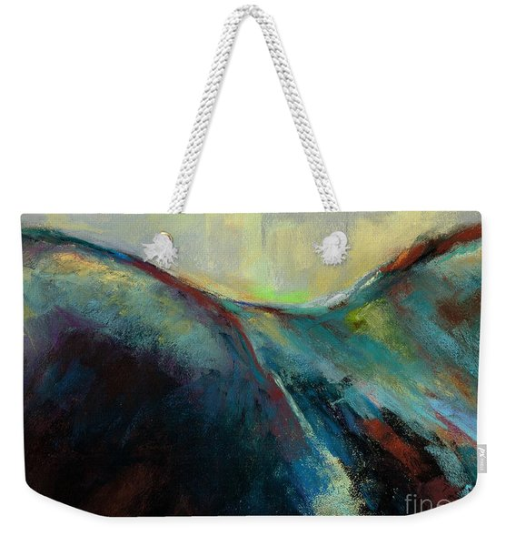 Top Line Weekender Tote Bag