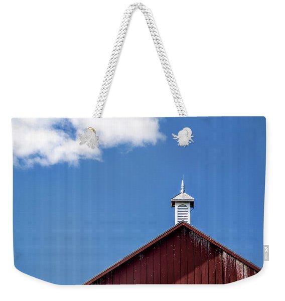 Top Of A Barn Weekender Tote Bag
