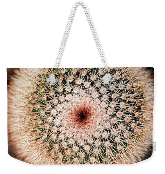 Top Of Cactus Weekender Tote Bag