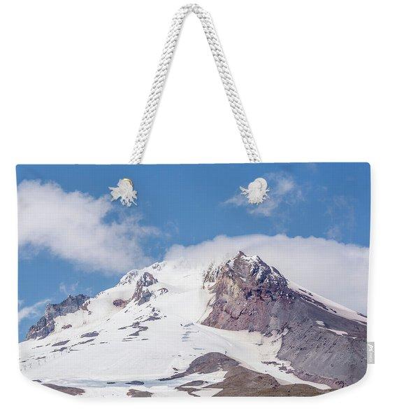 Top Of Mount Hood Weekender Tote Bag