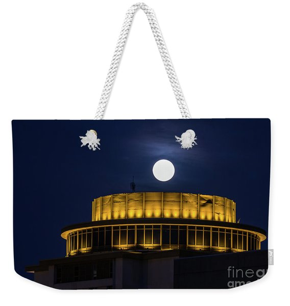 Top Of The Capstone Weekender Tote Bag