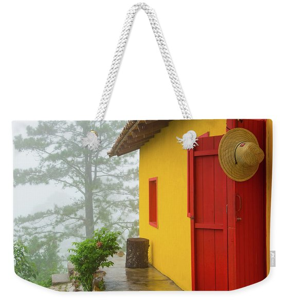 Top Of The Mountain Weekender Tote Bag