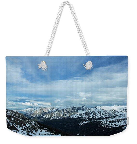 Top Of The Rockies Weekender Tote Bag