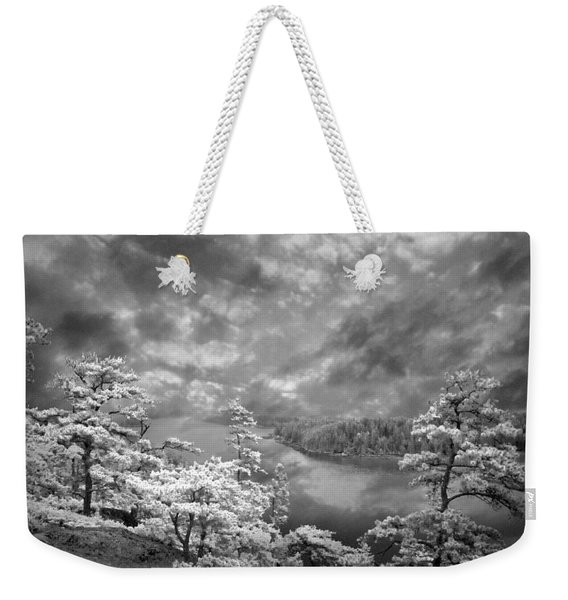 Top Of Tip Toe Mountain, Vinalhaven, Maine Weekender Tote Bag