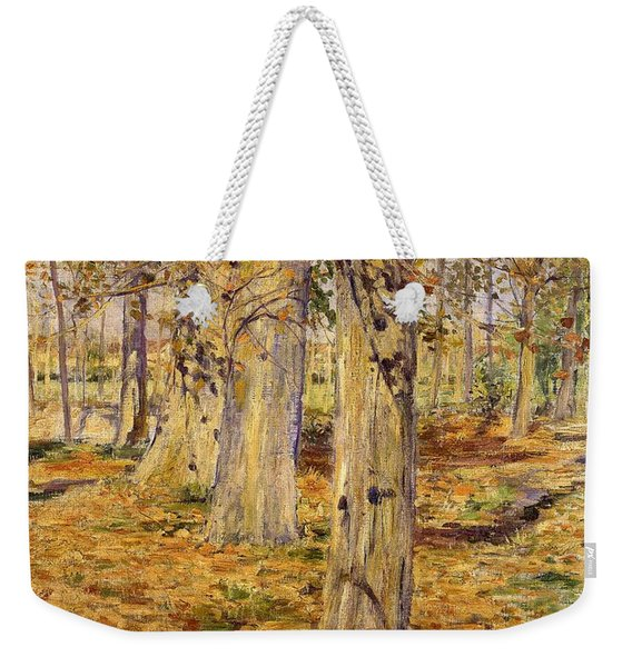 Top Quality Art - Fallen Leaf Weekender Tote Bag