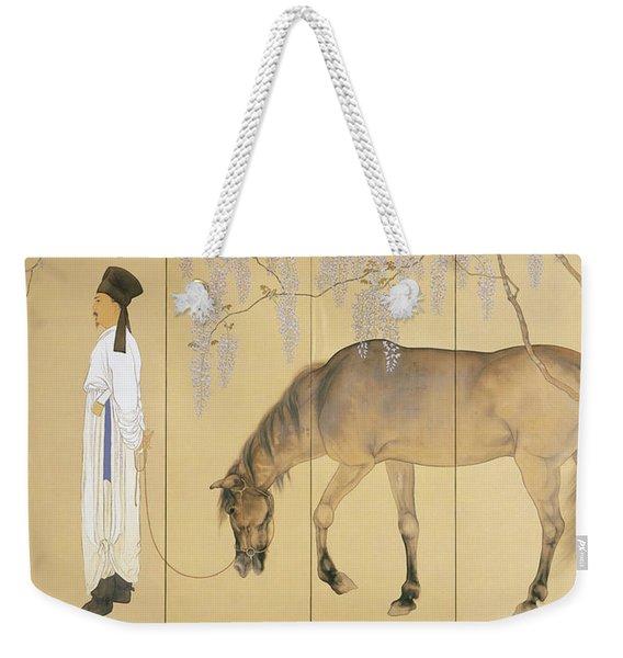Top Quality Art - Visiting A Hermit #1 Weekender Tote Bag