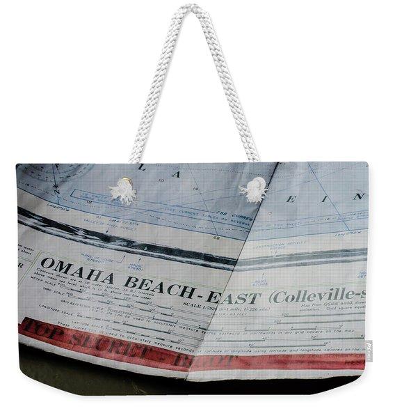 Top Secret - Omaha Beach Weekender Tote Bag