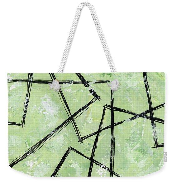 Topsy Turvy Weekender Tote Bag