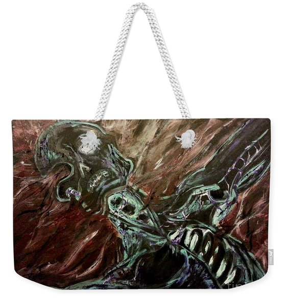 Tormented Soul Weekender Tote Bag