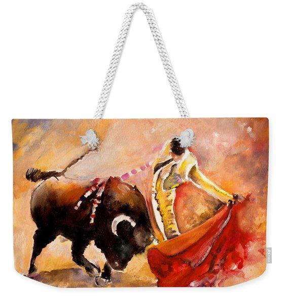 Toro Acuarela Weekender Tote Bag
