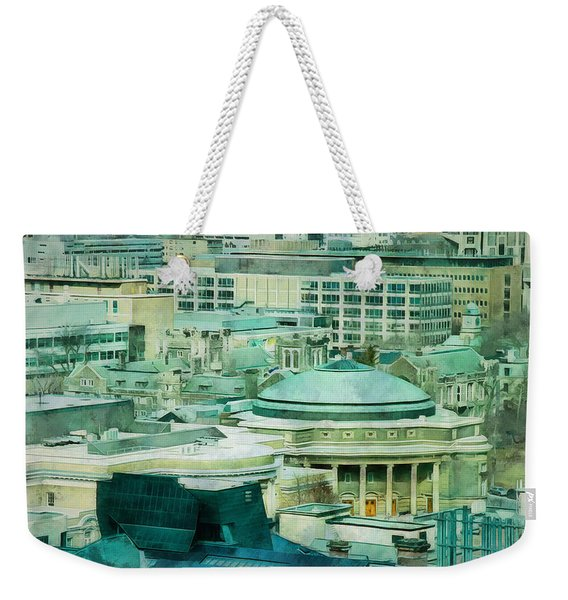 Toronto Window View Weekender Tote Bag