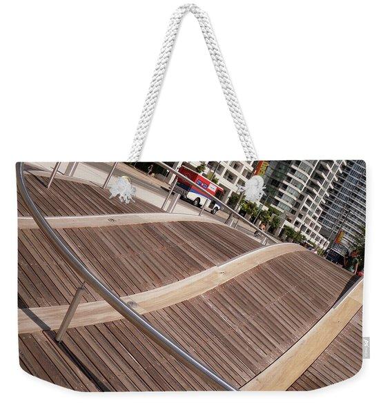 Toronto's Harbourfront Weekender Tote Bag