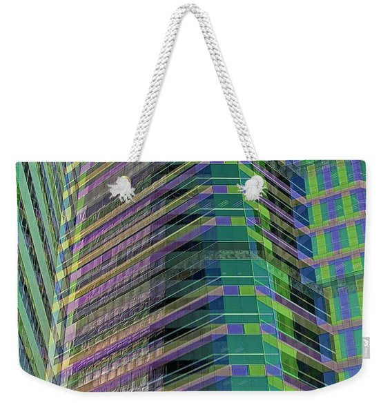 Abstract Angles Weekender Tote Bag
