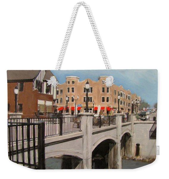 Tosa Village Bridge Weekender Tote Bag