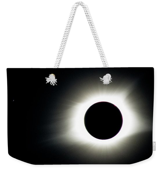 Totality And Mercury Weekender Tote Bag