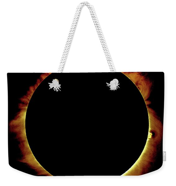 Totality Over Processed Weekender Tote Bag
