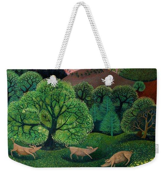 Totally Organic  Weekender Tote Bag