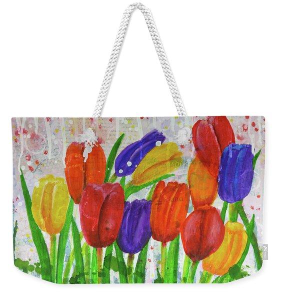 Totally Tulips Weekender Tote Bag