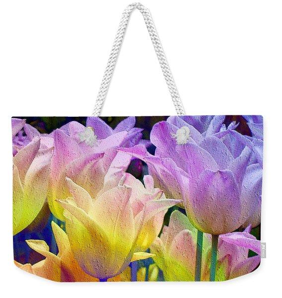 Totally Tulips Two Weekender Tote Bag