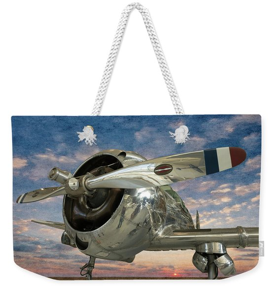 Touch And Go II Weekender Tote Bag