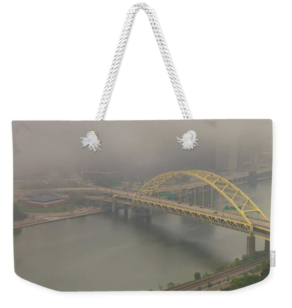 Touch Of Fog  Weekender Tote Bag