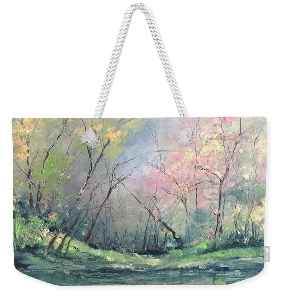 Touch Of Pink Weekender Tote Bag