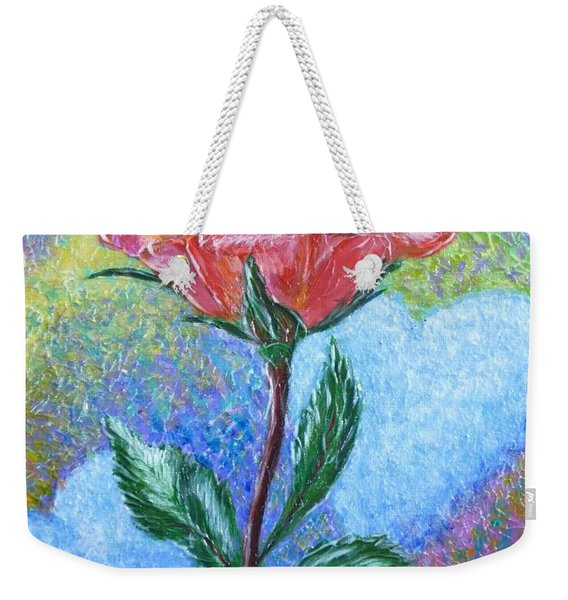 Touched By A Rose Weekender Tote Bag