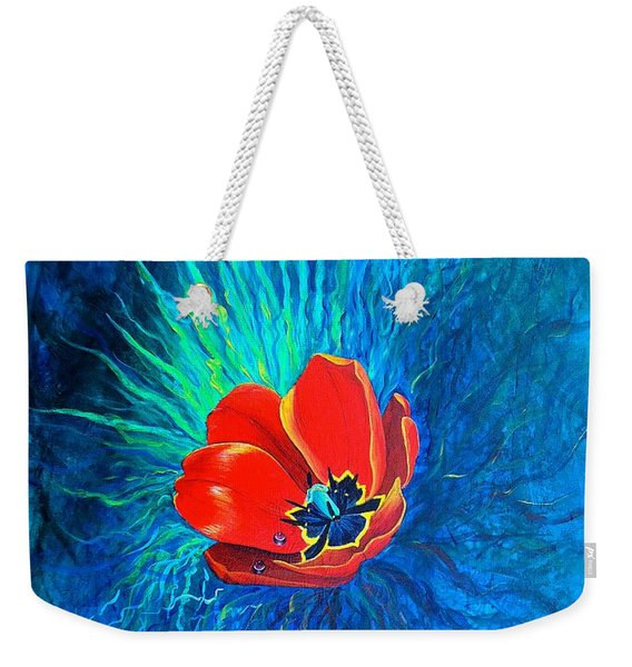 Touched By His Light Weekender Tote Bag