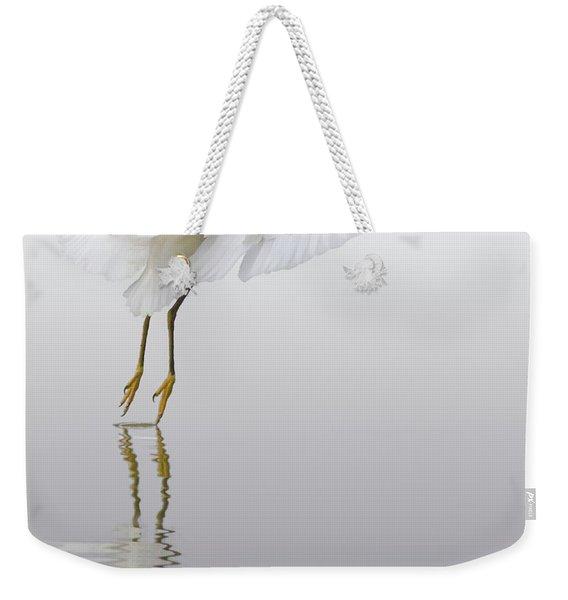 Touching Down Weekender Tote Bag