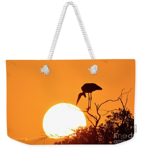 Touching The Sun Weekender Tote Bag