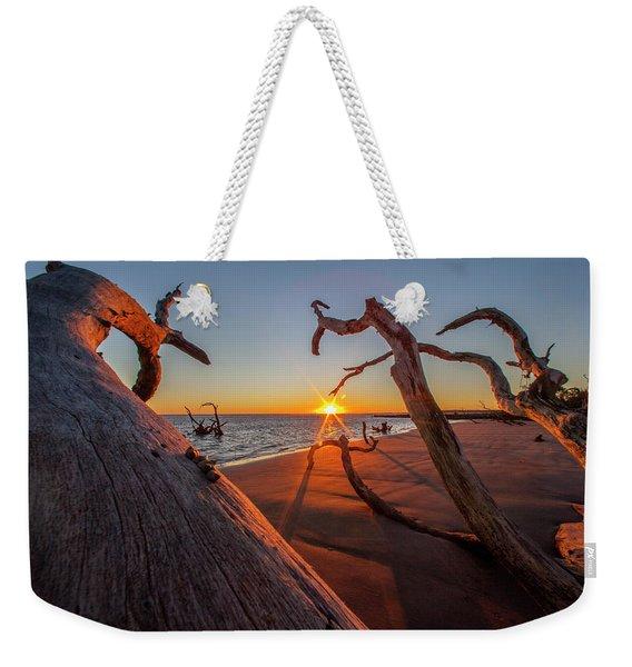 Towards The Sun Weekender Tote Bag