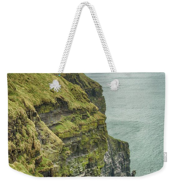Tower At The Cliffs Of Moher Weekender Tote Bag