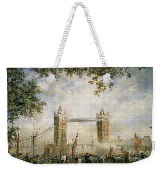 Tower Bridge - From The Tower Of London Weekender Tote Bag