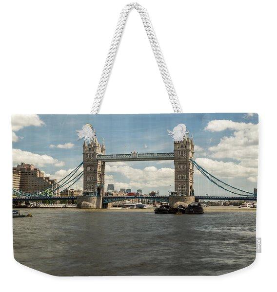 Tower Bridge A Weekender Tote Bag