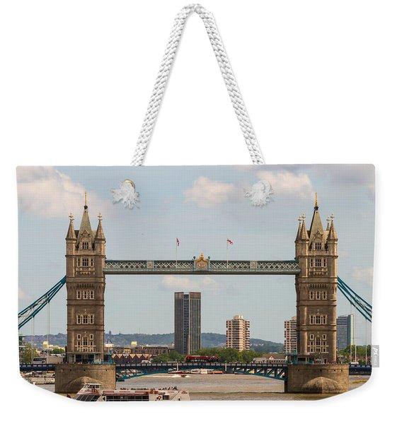 Tower Bridge C Weekender Tote Bag