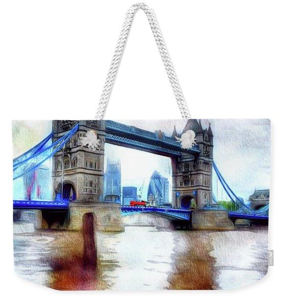 Tower Bridge, London Weekender Tote Bag