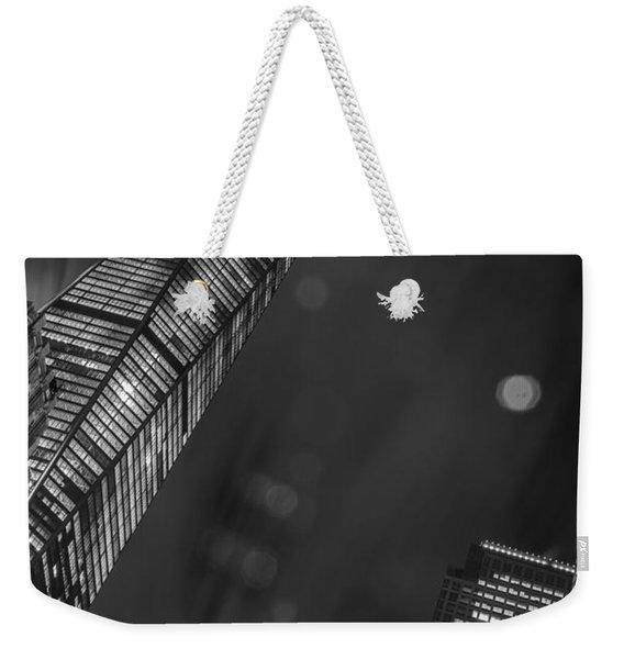 Tower Nights Weekender Tote Bag