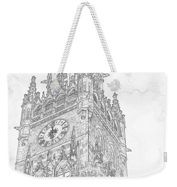 Tower Of Big Ben Weekender Tote Bag